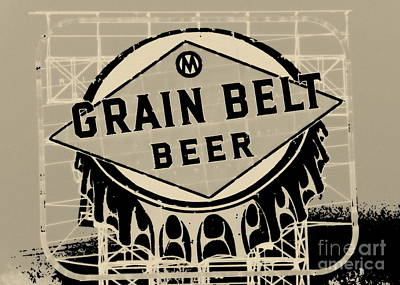Photograph - Grain Belt Beer I by A K Dayton