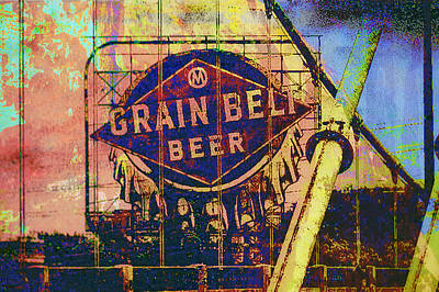 Grain Belt Beer Art Print