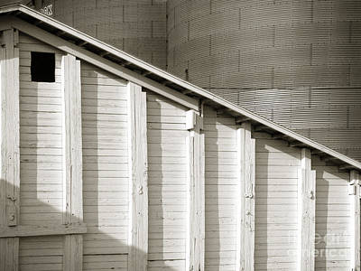 Photograph - Grain Depot 1 by Tom Brickhouse
