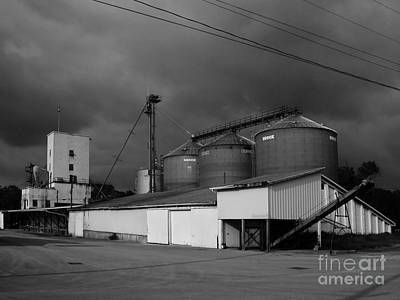 Photograph - Grain Depot 2 by Tom Brickhouse