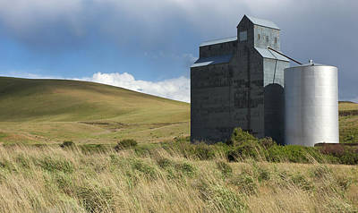 Photograph - Grain Elevator by Mary Lee Dereske