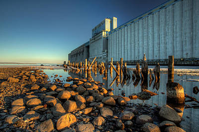 Working Hours Photograph - Grain Elevators by Jakub Sisak