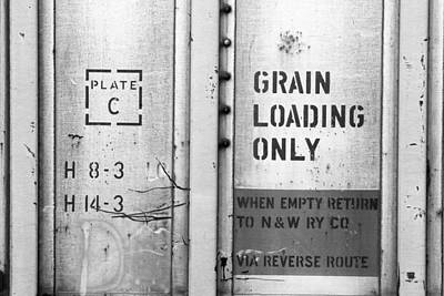 Photograph - Grain Loading Only by Joseph C Hinson Photography