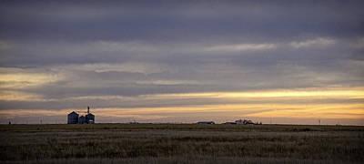Photograph - Grain Storage by David Waldrop