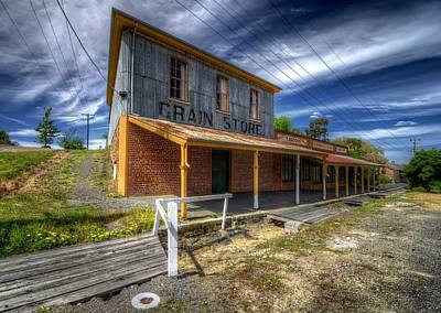 Photograph - Grain Store by Wayne Sherriff