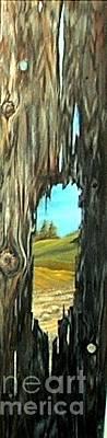 Painting - Grain Through The Grain by Anna-maria Dickinson