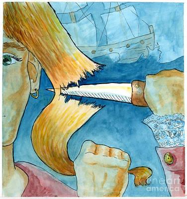 Grainne Mhaol Art Print