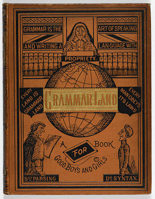 Edition Photograph - Grammar Book For Children by British Library
