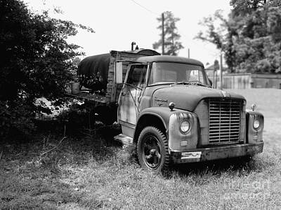 Photograph - Grampa's Trucks by George DeLisle
