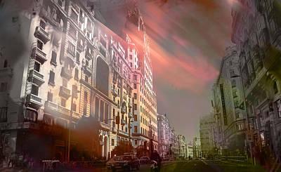 Photograph - Gran Via De Madrid by Alfonso Garcia