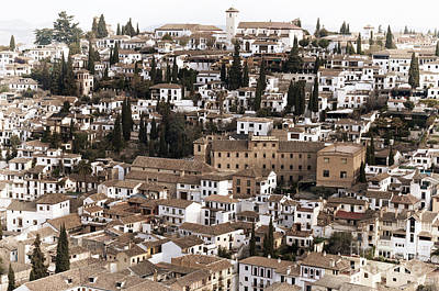 Alhambra Photograph - Granada by Marion Galt