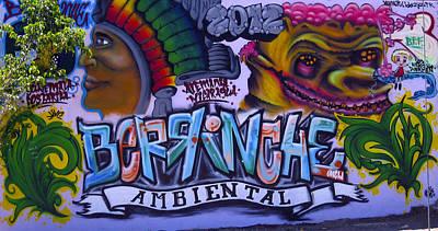 Photograph - Granada Nicaragua Street Art 1 by Kurt Van Wagner
