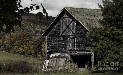 Photograph - Granby Barn Connecticut by Phil Cardamone