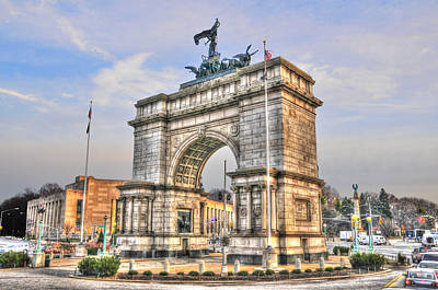 Grand Army Plaza Photograph - Grand Army Plaza Arch by Randy Aveille