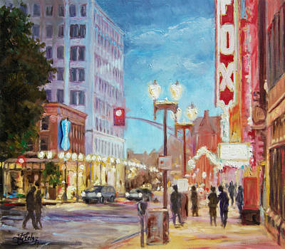 Grand Boulevard St.louis Art Print