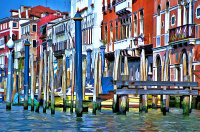Farm House Style - Grand Canal - Venice by Allen Beatty