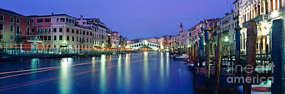 Illuminated Photograph - Grand Canal by Rod McLean