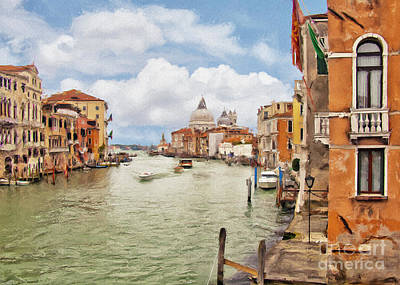 Photograph - Grand Canal Apartment by Sharon Foster