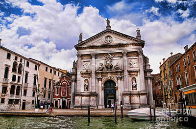 Photograph - Grand Canal Church by Brenda Kean