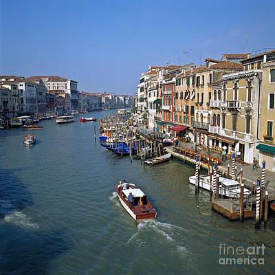 Venedig Photograph - Grand Canal by Heiko Koehrer-Wagner