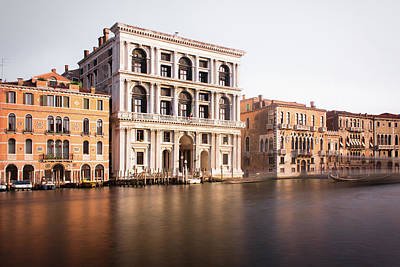 Photograph - Grand Canal In Venice by By Felix Schmidt