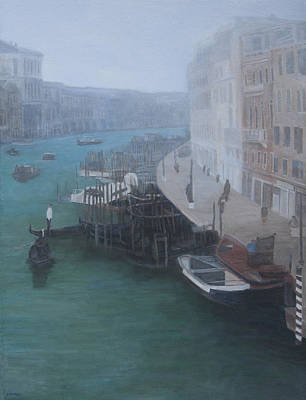 Painting - Grand Canal by Masami Iida
