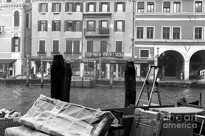 Photograph - Grand Canal Morning by John Rizzuto
