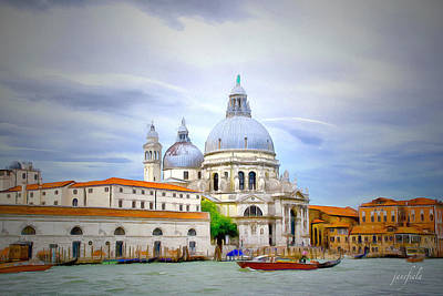 Italy Painting - Grand Canal No. 2 by Jane Fiala