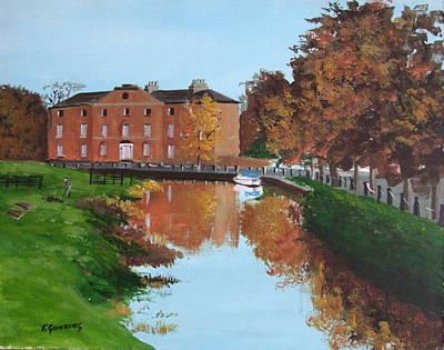 Grand Canal Robertstowm Original by Tony Gunning