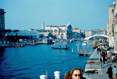 Grand Canal Venice 1961 Art Print by Cumberland Warden