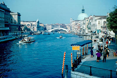 Grand Canal 1961 Art Print by Cumberland Warden