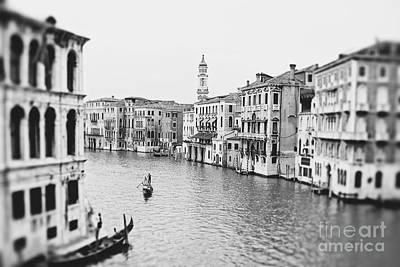 Grand Canal Venice Italy Art Print by Ivy Ho
