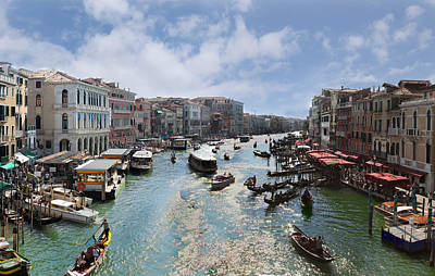 Photograph - Grand Canal Venice by Richard Engelbrecht