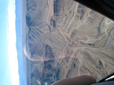 Helicopter Photograph - Grand Canyon - 121229 by DC Photographer