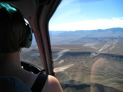 Helicopters Photograph - Grand Canyon - 121231 by DC Photographer