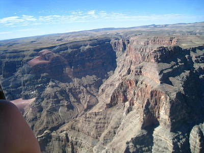 Helicopter Photograph - Grand Canyon - 121243 by DC Photographer