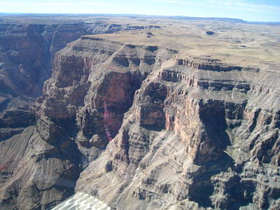 Helicopter Photograph - Grand Canyon - 121244 by DC Photographer