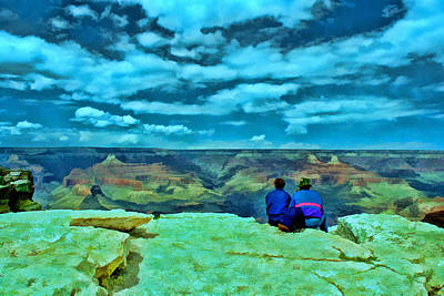 Photograph - Grand Canyon # 7 - Hopi Point by Allen Beatty