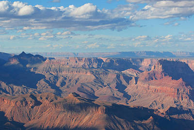 Photograph - Grand Canyon Approaching Sunset by Lou Ford