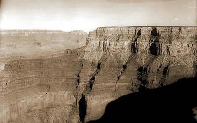 Canyons Drawing - Grand Canyon, Arizona, Canyons, United States by Litz Collection