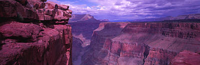 Overcast Photograph - Grand Canyon, Arizona, Usa by Panoramic Images