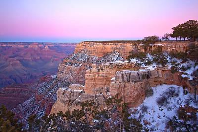 Photograph - Grand Canyon At Sunset by Jennifer Lycke