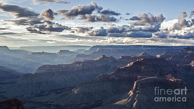 Grand Canyon At Sunset Art Print by Shishir Sathe