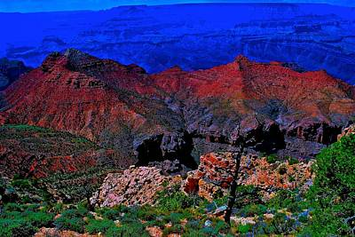 Photograph - Grand Canyon Beauty Exposed by Jim Hogg