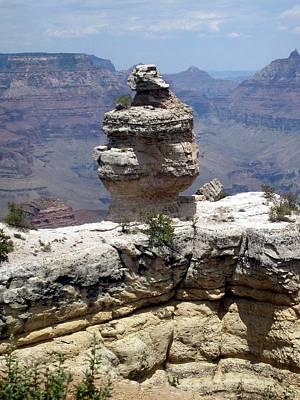 Photograph - Grand Canyon Bluff by Philomena Zito