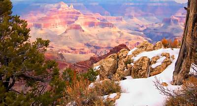 Art Print featuring the photograph Grand Canyon by Bob Pardue