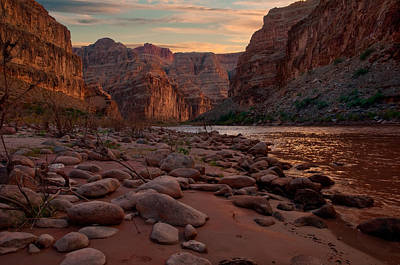 Photograph - Grand Canyon Bottom by Darren Bradley