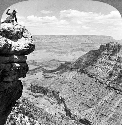 Grand Canyon Of Arizona Painting - Grand Canyon, C1903 by Granger