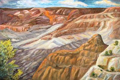 Painting - Grand Canyon by Caroline Owen-Doar