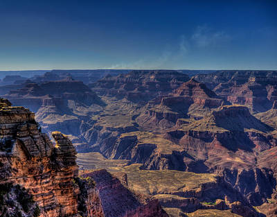 Photograph - Grand Canyon Cliff by Jonny D